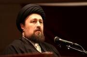 تسلیت سید حسن خمینی به حجت الاسلام و المسلمین معزی