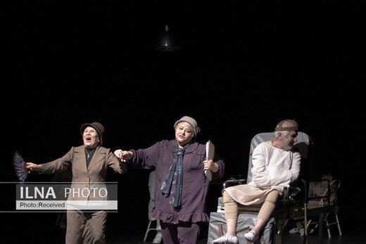 نقش رابعه اسکویی در نمایش «هرملین، دیوانه اسکاندیناوی» / عکس