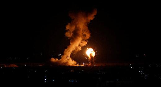 حملات هوایی میان مقاومت و رژیم صهیونیستی بالا گرفت؛زخمی شدن 46اسرائیلی