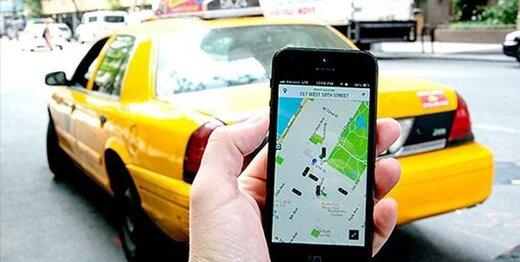 دست تاکسیهای اینترنتی برای افزایش کرایه در روزهای آلوده و بارانی باز شد