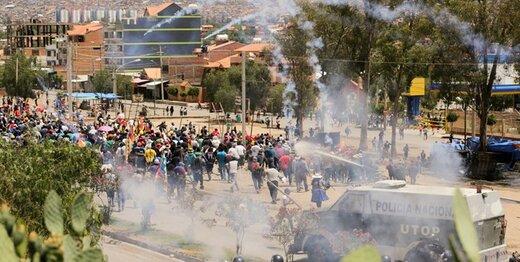 دیپلمات های آمریکا بولیوی را ترک می کنند