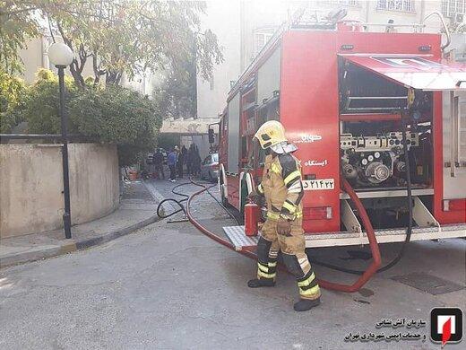 آتشسوزی در هتل خیابان ناصرخسرو