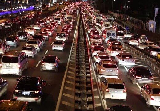دلایل ترافیک این روزهای تهران از زبان رئیس پلیس راهور تهران