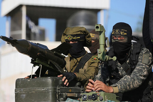 فیلم | پاسخ موشکی جهاد اسلامی به حمله صهیونیستها