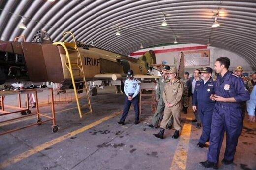 رونمایی از جدیدترین دستاوردهای نظامی ارتش/ از پرندههای هدایتشونده بدون سرنشین تا خط تعمیرات جنگندههای اف۴ +تصاویر