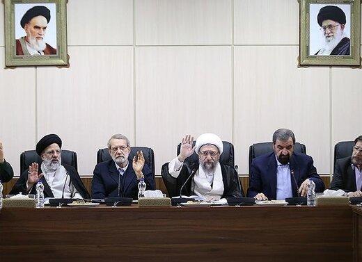 تصویری از حضور ناطقنوری و احمدینژاد در جلسه امروز مجمع تشخیص مصلحت نظام