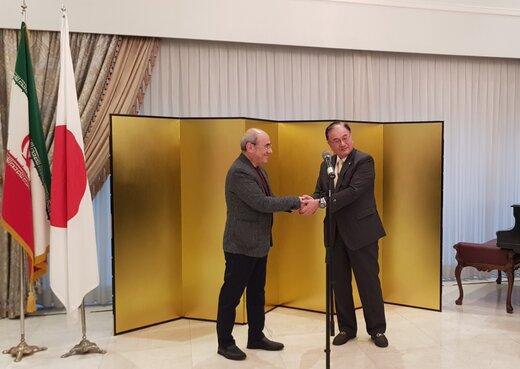 کمال تبریزی در سفارت ژاپن تقدیر شد