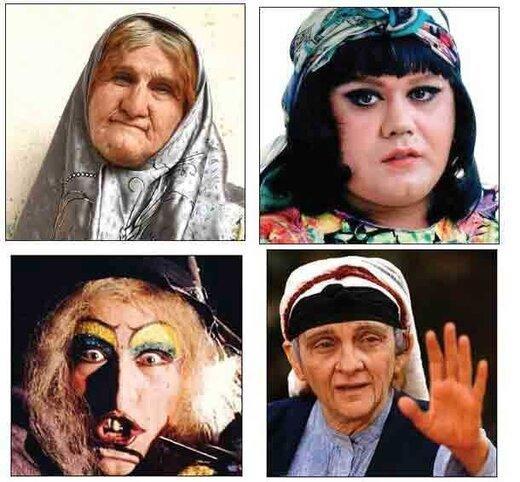 جنجالیترین گریمها در سینمای ایران/ عکس