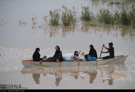 مهاجرت روستاییان خوزستان به شهرها به خاطر سیلاب اخیر