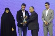 گاف رسانه ایتالیایی؛ استراماچونی جایزه مربی ماه ایران را گرفت!/عکس