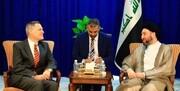 دیدار سفیر آمریکا در عراق با سید «عمار الحکیم»