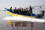 بازدید معاون اول رئیس جمهور از دریاچه ارومیه و تونل انتقال آب کانیسیب