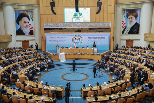 Int'l Islamic Unity Conference opens in Tehran