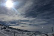 فیلم | برف، جاده فیروزکوه و گرنه گدوک را سفیدپوش کرد