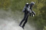 فیلم | رکورد سرعت پرواز با جتپک شکست شد