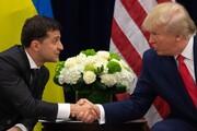 متن مکالمه اول ترامپ با رئیس جمهوری اوکراین منتشر شد