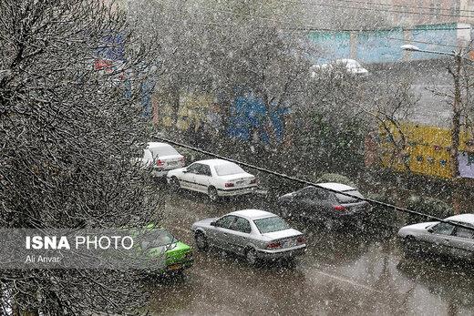 نفوذ توده هوای سرد به کشور/ بارش برف در پایتخت