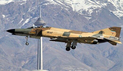 تركيب رادار ايراني للأغراض المتعددة على المقاتلة F4