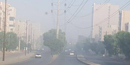 هوای خوزستان در شرایط بسیار ناسالم قرار گرفت/ اعلام دلایل آلودگی هوا