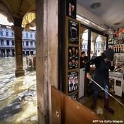 تصاویر | ونیز اینبار واقعا زیر آب!