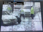 معاون خدمات شهری شهرداری تهران، بارش برف، بارش برف در تهران