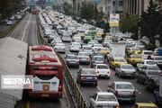 تصاویر | وضعیت وسایل نقلیه عمومی در روز اول گرانی بنزین در تهران