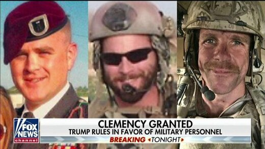 دو جنایتکار جنگی معروف، از سوی ترامپ عفو شدند