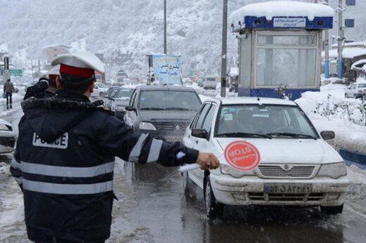 فیلم | هشدار رئیس پلیس راهور: به این خیابانها نروید؛ قفل است