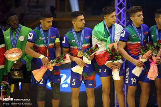 قهرمانی جوانان ایران در مسابقات کبدی