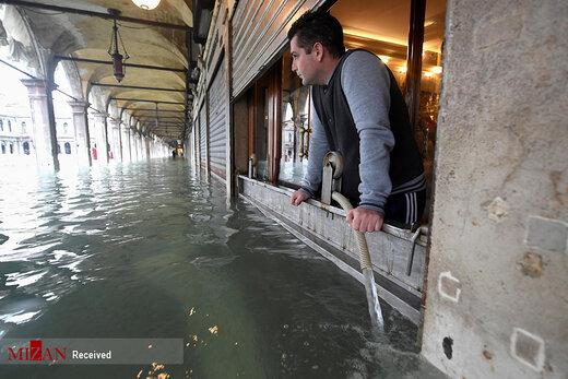 ونیز زیر آب