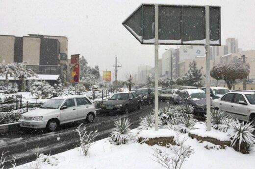 فیلم | زیباییهای بارش برف در تهران