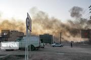 فیلم | اولین تصاویر رسمی از معالیآباد شیراز پس از اعتراضات بنزینی