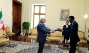 Iran's FM Zarif receives credentials of new Zimbabwe envoy