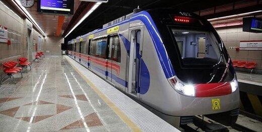 ساعات حرکت قطارهای مترو به حالت عادی بازگشت