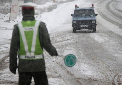 هشدار به مسافران؛ جادههای این ۱۵ استان کشور برفی و بارانی است
