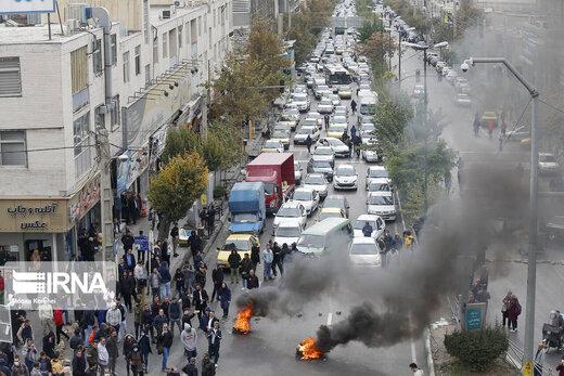 فیلم | دقیقترین جزئیات رسمی خسارات تهران بر اثر اعتراضات بنزینی