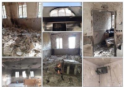 سوزاندن ۱۳هزارجلد کتاب در یک کتابخانه در ناآرامیهای اخیر