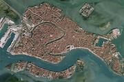تصویر ماهوارهای از بلایی که سیل بر سر ونیز آورد