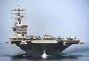 بزرگترین ناو هواپیمابر آمریکا به خلیج فارس رسید