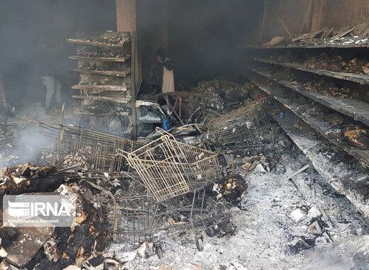 آتشی که ۷۵ نان آور خانوار را بیکار کرد
