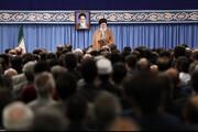فیلم | آیت الله خامنهای با اشاره به حوادث پس از گرانی بنزین در کشور: همه بدانند،اتفاقات اخیر جنگ امنیتی بود