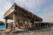 فیلم | آثار بازمانده از خرابیهای بنزینی در ملارد و شهر قدس