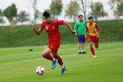 تصاویر | آخرین تمرین تیم امید پیش از دیدار برابر قطر