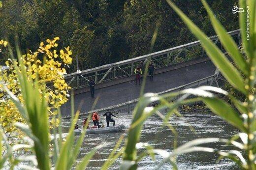 فرو ریختن مرگبار پل معلق در فرانسه