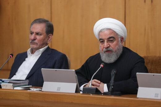 روحاني: الشعب لم يسمح للعدو بتمرير مؤامرته