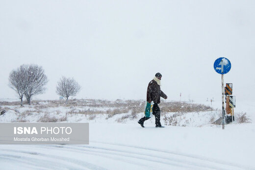 اطلاعیه سازمان هواشناسی درباره آبگرفتگی معابر عمومی و کولاک برف