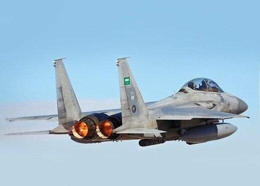 پدافند هوایی یمن جنگنده اف ۱۵ سعودی را غافلگیر کرد