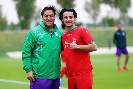 آخرين تمرين تيم اميد پيش از ديدار برابر قطر