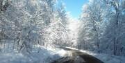 برف و باران ۱۱ جاده را مسدود کرد