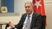 گزارش آماری وزیر دفاع ترکیه درباره عملیات چشمه صلح